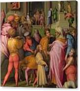 Joseph Sold To Potiphar Canvas Print