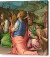Joseph's Brothers Beg For Help Canvas Print