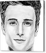 Josh Hutcherson Canvas Print
