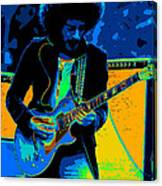Journey #9 Enhanced In Cosmicolors Canvas Print