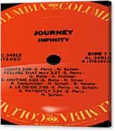Journey - Infinity Side 1 Canvas Print