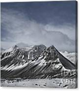 Journey Into The Realms Above Canvas Print