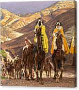 Journey Of The Magi Canvas Print