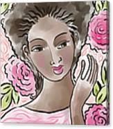 Joy In Flowers Canvas Print