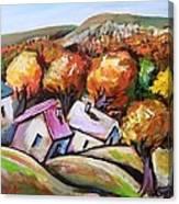 Joy Of Fall Canvas Print