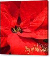 Joy Of The Season Canvas Print