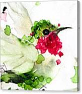 Joyful Flight Canvas Print