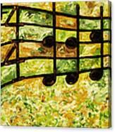 Joyful - Lemon Lime Canvas Print