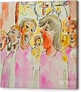 Joyful Noise Canvas Print