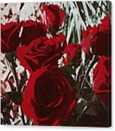 Joyful Roses   Canvas Print