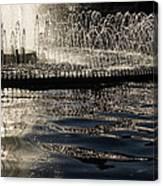 Joyful Sunny Splashes Canvas Print