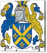 Joynt Coat Of Arms Irish Canvas Print