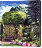 Joy's Garden Canvas Print