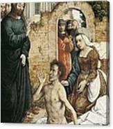 Juan De Flandes  -1519. The Canvas Print