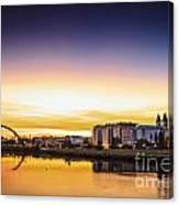 Jubia River Naron Galicia Spain Canvas Print