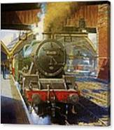 Jubilee 4.6.0 At Liverpool Lime Street. Canvas Print