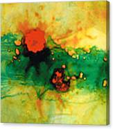 Jubilee - Abstract Art By Sharon Cummings Canvas Print