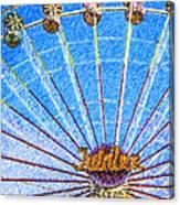 Jubilee Ferris Wheel Canvas Print