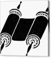Judaism Torah Canvas Print