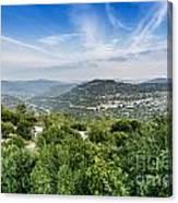 Judean Foothills Landscape Canvas Print