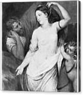 Judgement Of Paris Canvas Print