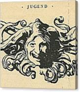Jugend Jester Canvas Print