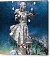Juggling The Worls Canvas Print