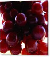 Juicy Grapes Canvas Print