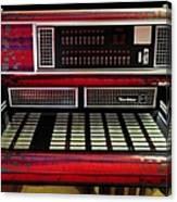 Jukebox - Wurlitzer X7 Canvas Print