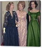 Julie Nixon Eisenhower Canvas Print