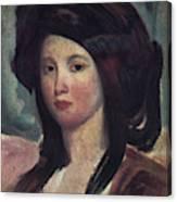 Juliette Drouet (1806-1883) Canvas Print