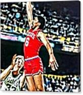 Julius Erving Canvas Print