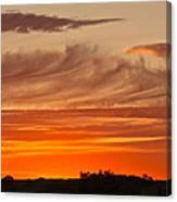 July 4th Sunset Canvas Print