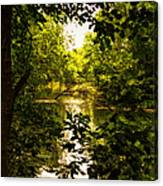 July Indian Lake Looking North Canvas Print