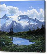 Jumbo Pass Pond Canvas Print