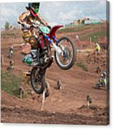 Jumping High Canvas Print