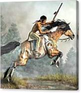 Jumping Horse Canvas Print