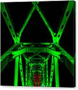 Junction Bridge Canvas Print