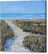 June Beach Hilton Head Canvas Print