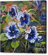 June In The Garden Canvas Print