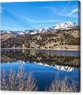 June Lake Reflections Canvas Print