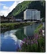 Juneau Federal Building Canvas Print