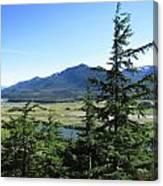 Juneau From Glacier Gardens Canvas Print