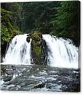 Juneau Trail Canvas Print
