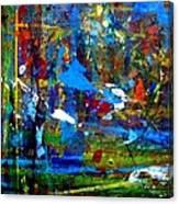 Jungle Boogie 130104-3 Canvas Print