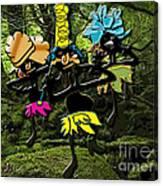 Jungle Dancers Canvas Print