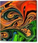 Jungle Eyes Canvas Print