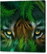 Jungle Eyes - Tiger Canvas Print