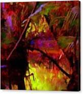 Jungle Fire Canvas Print