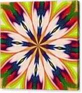 Jungle Flower Bloom Canvas Print